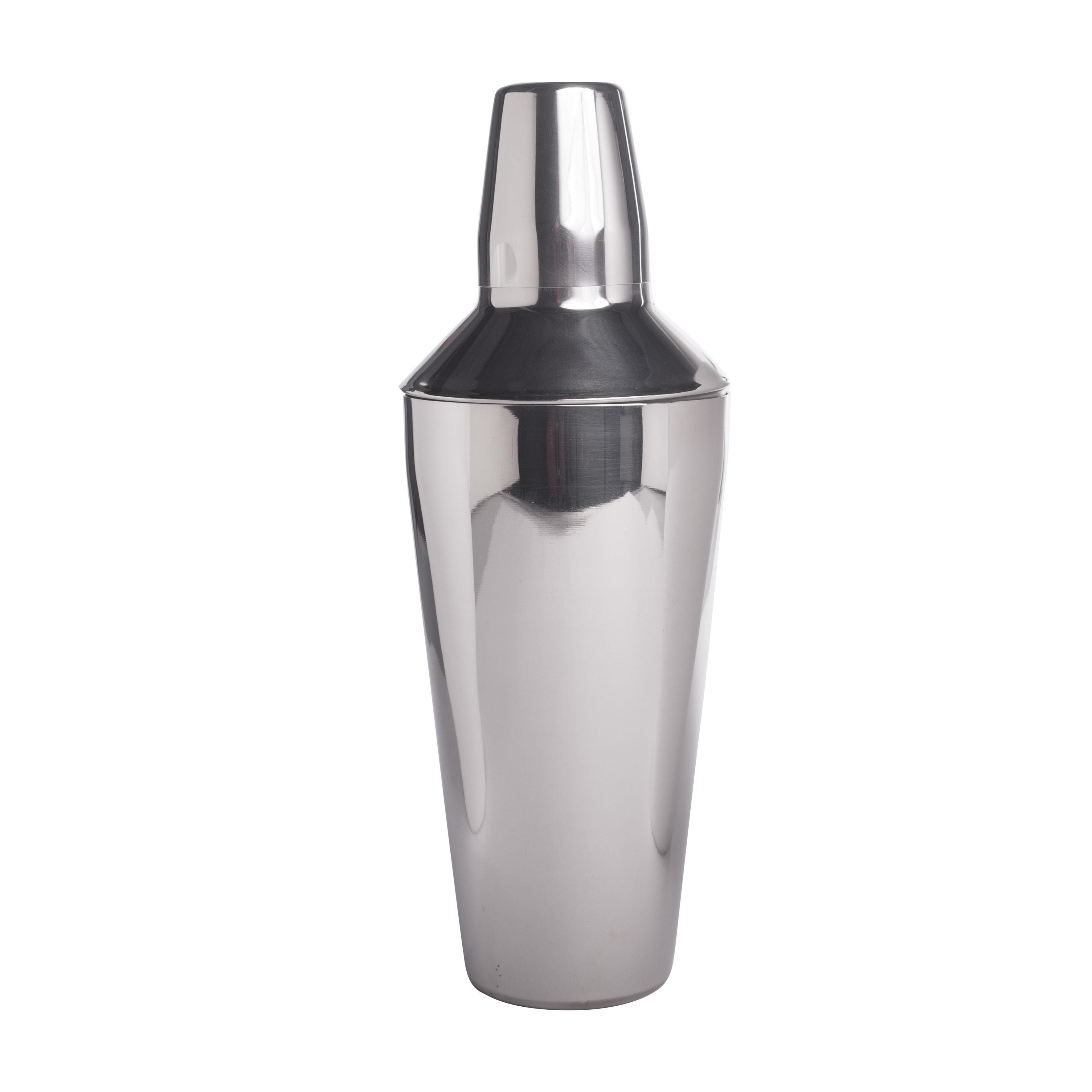 Cocktail-Shaker, poliert 3-teilig 28oz