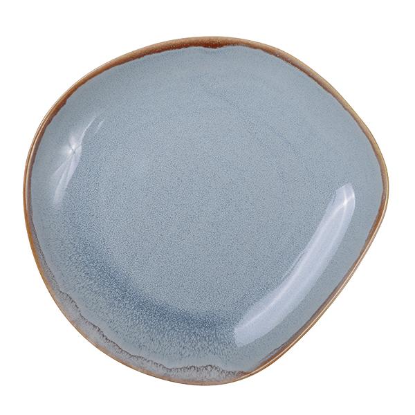 Ming Platte, blau 21cm
