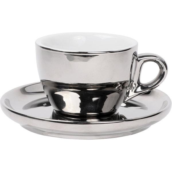Kaffee Set Chrom, 160ml
