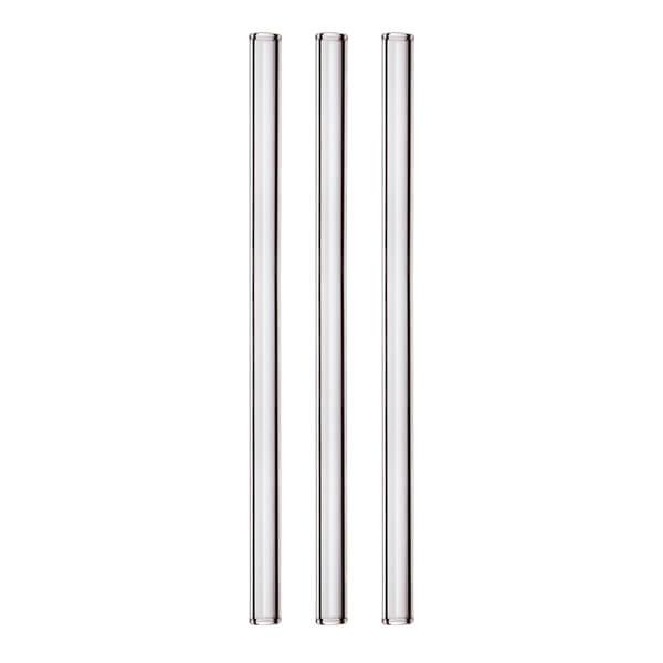 Glas Trinkhalm, gerade 11x150mm (50 Stück)