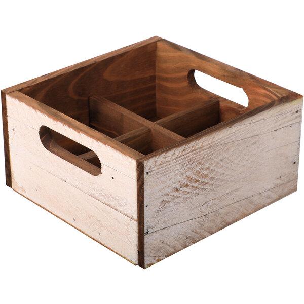Holzbox klein Weiß