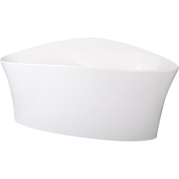 Vela Bowl, white 56,5*28,5cm - H28,5cm