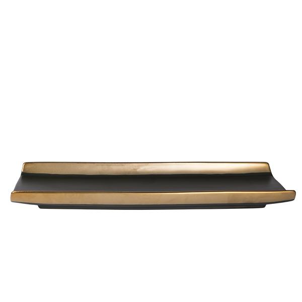 Dynasty Platte rechteckig Teller 40,5cm