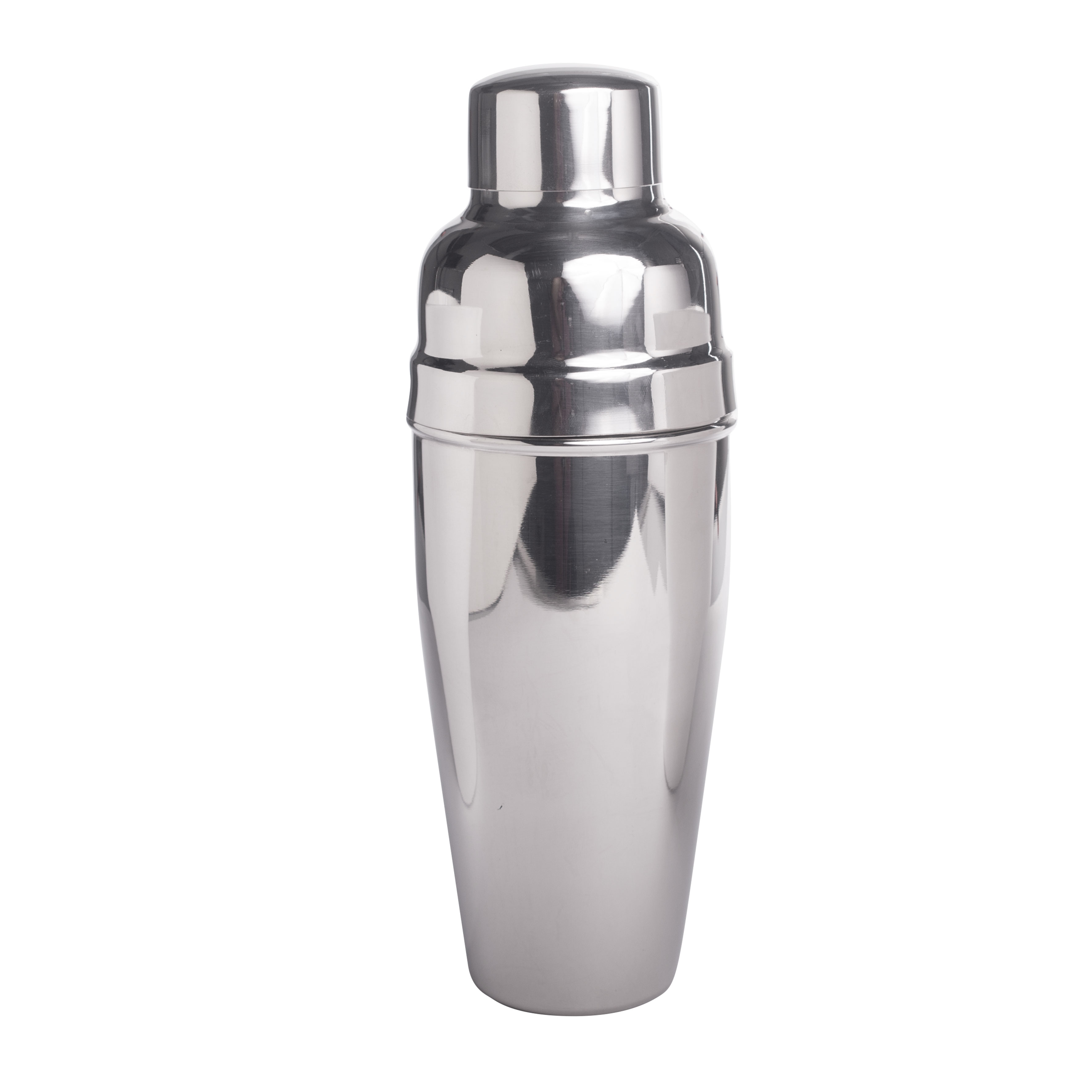 Cocktail-Shaker, poliert 3-tlg, Italien