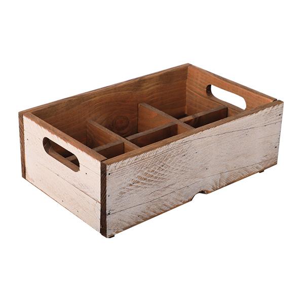 Holzbox Weiß