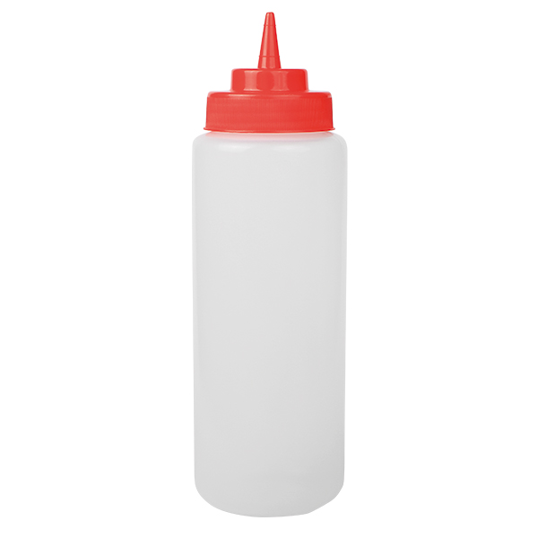 Ketchup Squeeze Bottle 32 oz, 944 ml, Wide Mouth