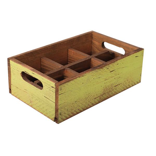 Holzbox Grün