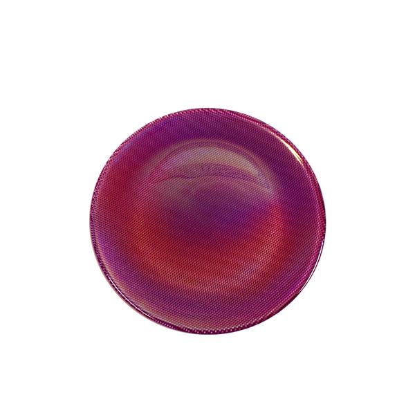 Glasteller Violett/Perlmutt · Iride