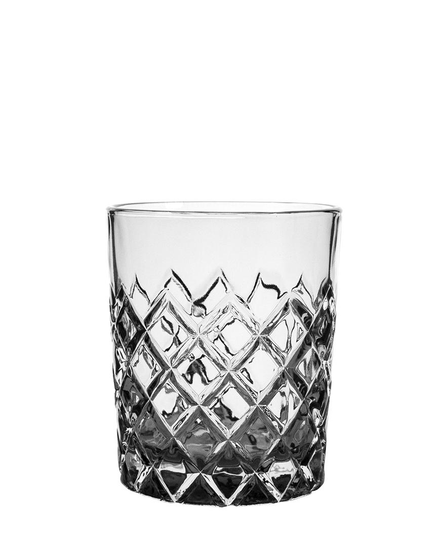 Healey Double Old Fashioned Glas 310ml smoke