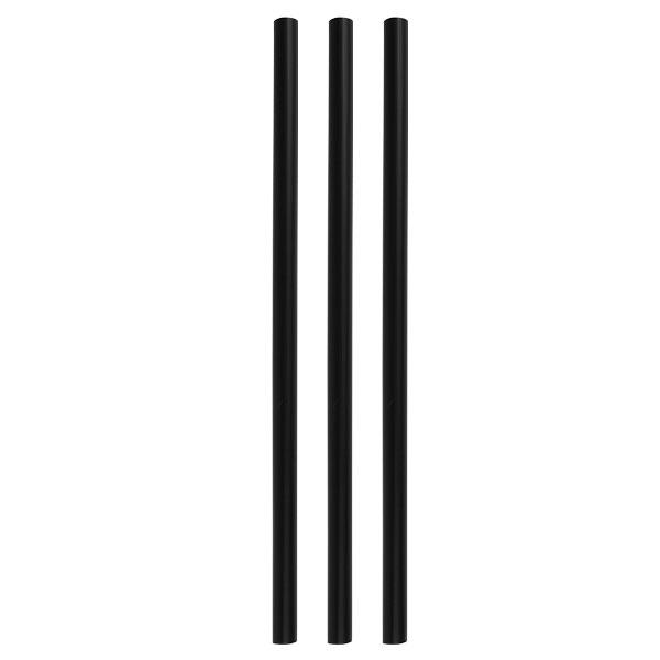 Trinkhalm Stirrer, schwarz 6x185 mm (200Stk)
