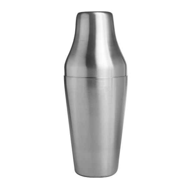 Cocktail-Shaker APS zweiteilig 65 cl gebürstet