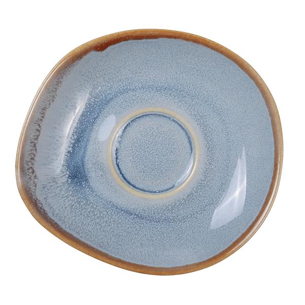 Ming Espressotasse mit Untertasse 80ml, blau