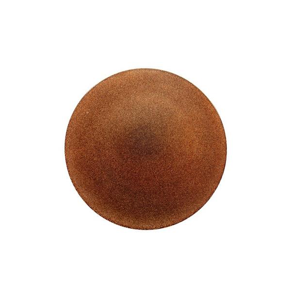 Copper Dessert Plate Glitter - Ø 21cm