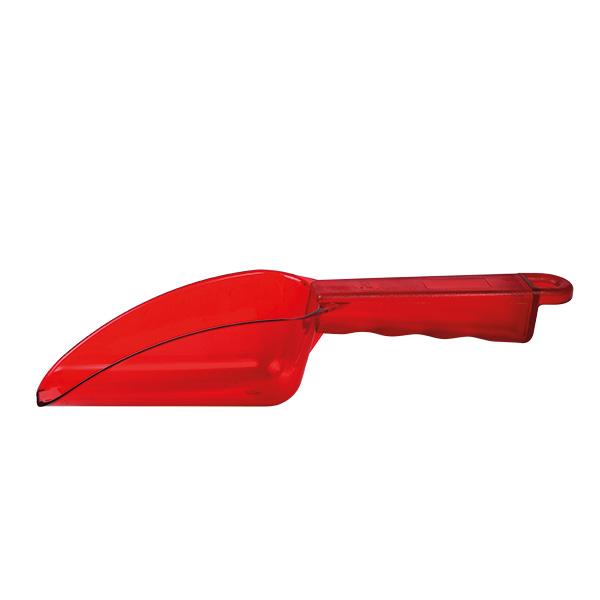 Eisschaufel Polycarbonat 0,35 Liter, rot