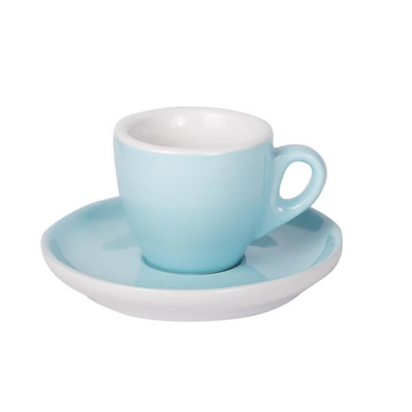 Espresso Tasse mit Untertasse 55ml Blau 628c
