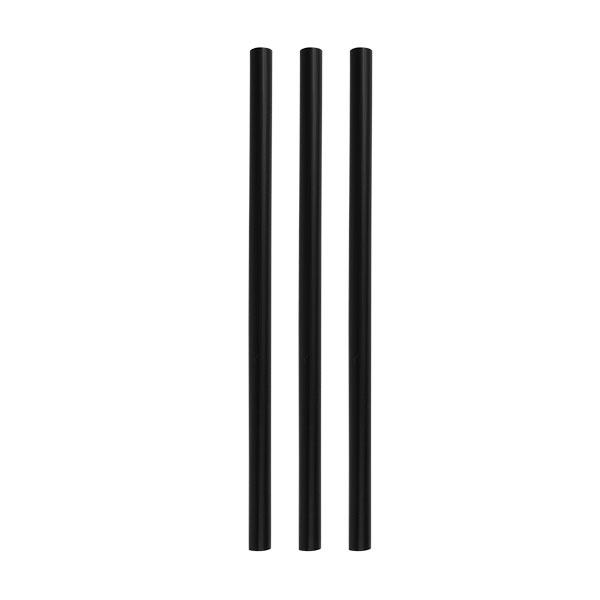 Trinkhalm Stirrer 6x152mm (200Stk) schwarz