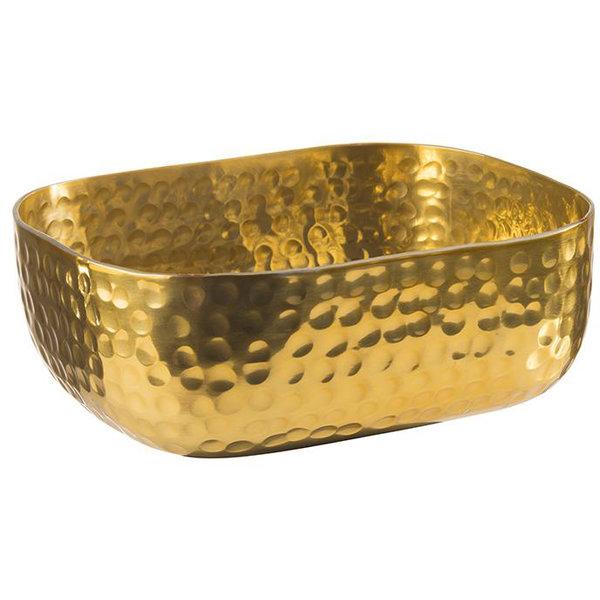 Bowl, mit gehämmerter Oberfläche, gold 700ml
