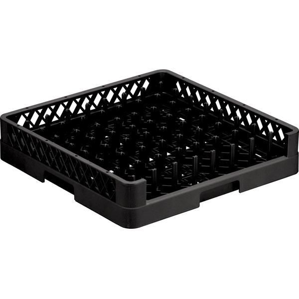 64-Compartment Tellerkorb 50x50x63 Schwarz