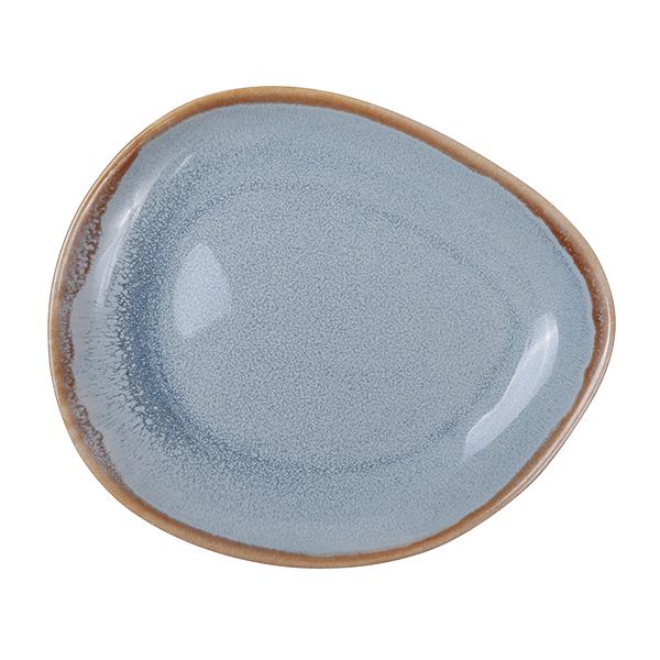 Ming Platte, blau 14,7cm