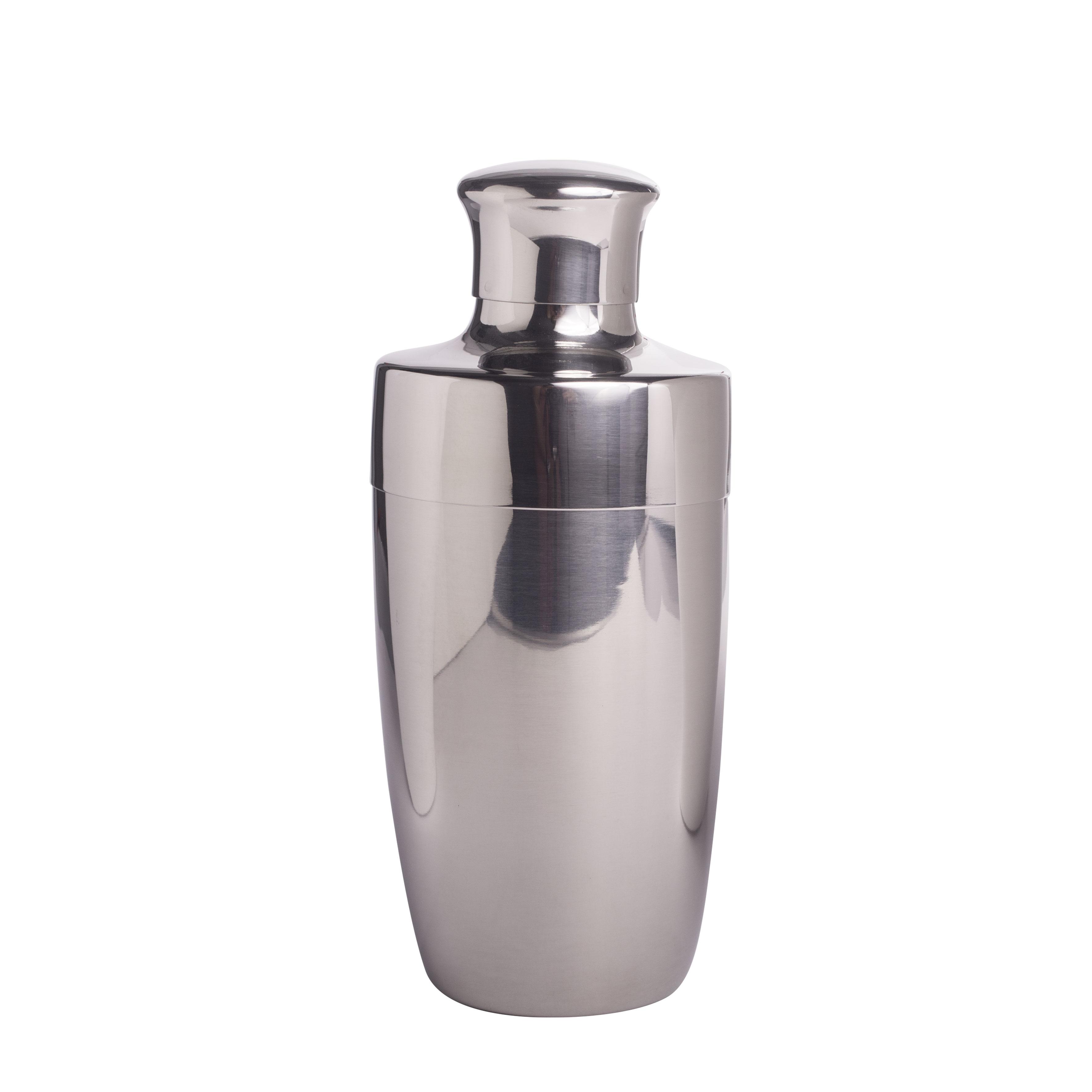Cocktail-Shaker, poliert 3-teilig 750 ml