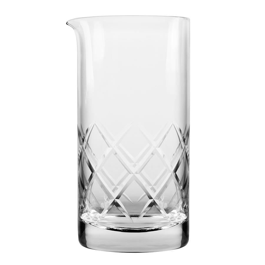 Hand-Cut Rührglas mit Ausgußlippe, 700ml