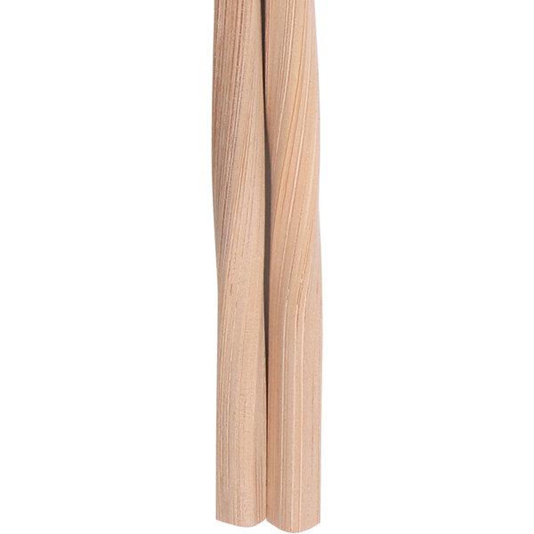 Twist Einwegstäbchen Bamboo BLACK, 24cm