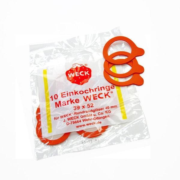 Einkochring für Einweckgläser 4cm- 10 Stück