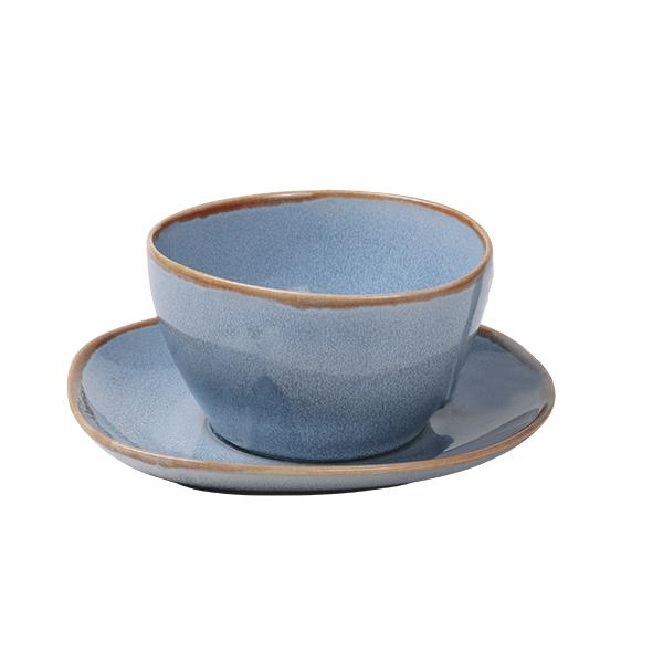 Ming Schale mit Henkel 240ml, blau