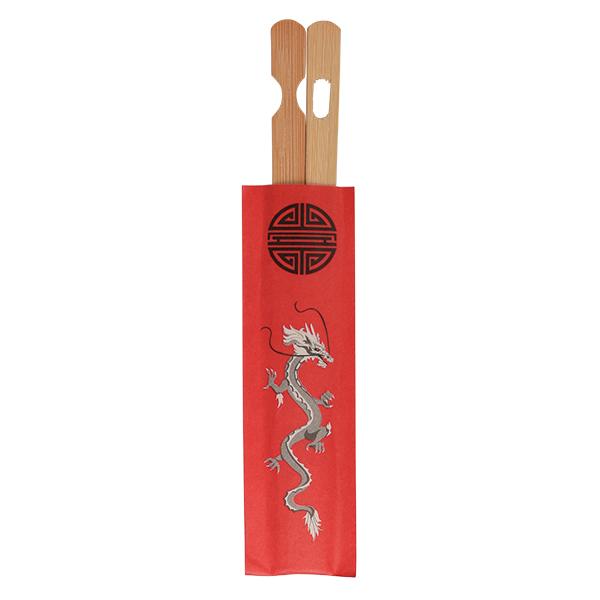 Einwegstäbchen Bamboo, Beutel mit 100 Stk