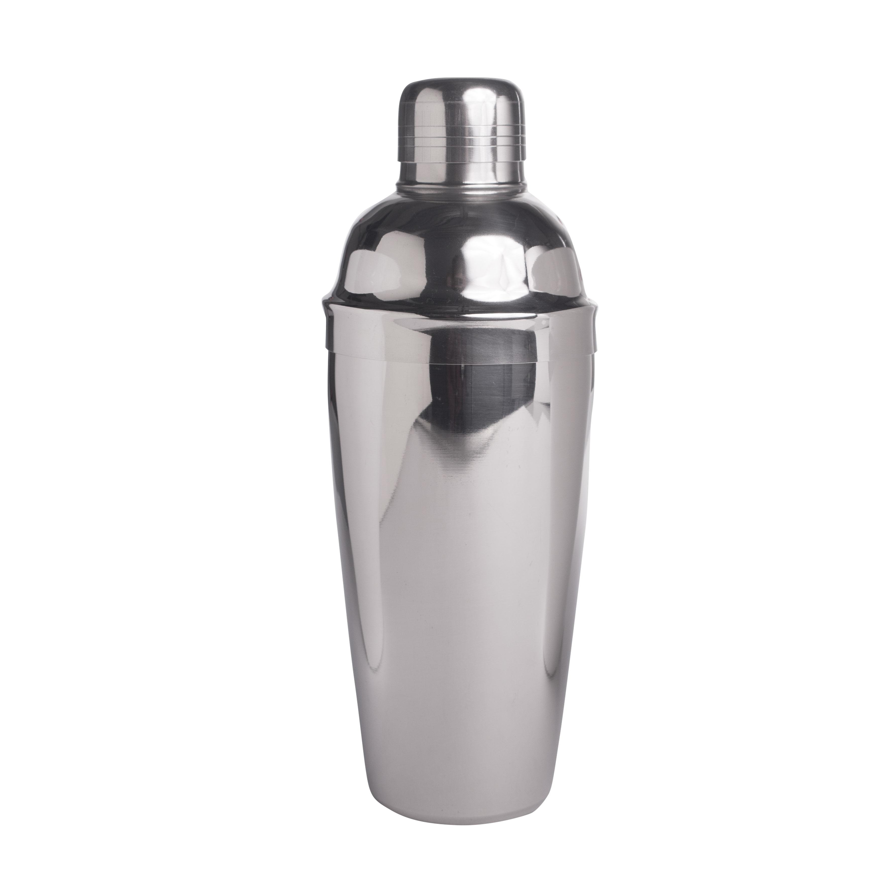 Cocktail-Shaker, poliert 3-teilig 650 ml