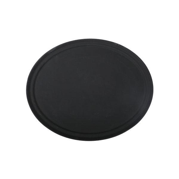 2700CT Fiberglastablett 56 x 68 cm oval, schwarz