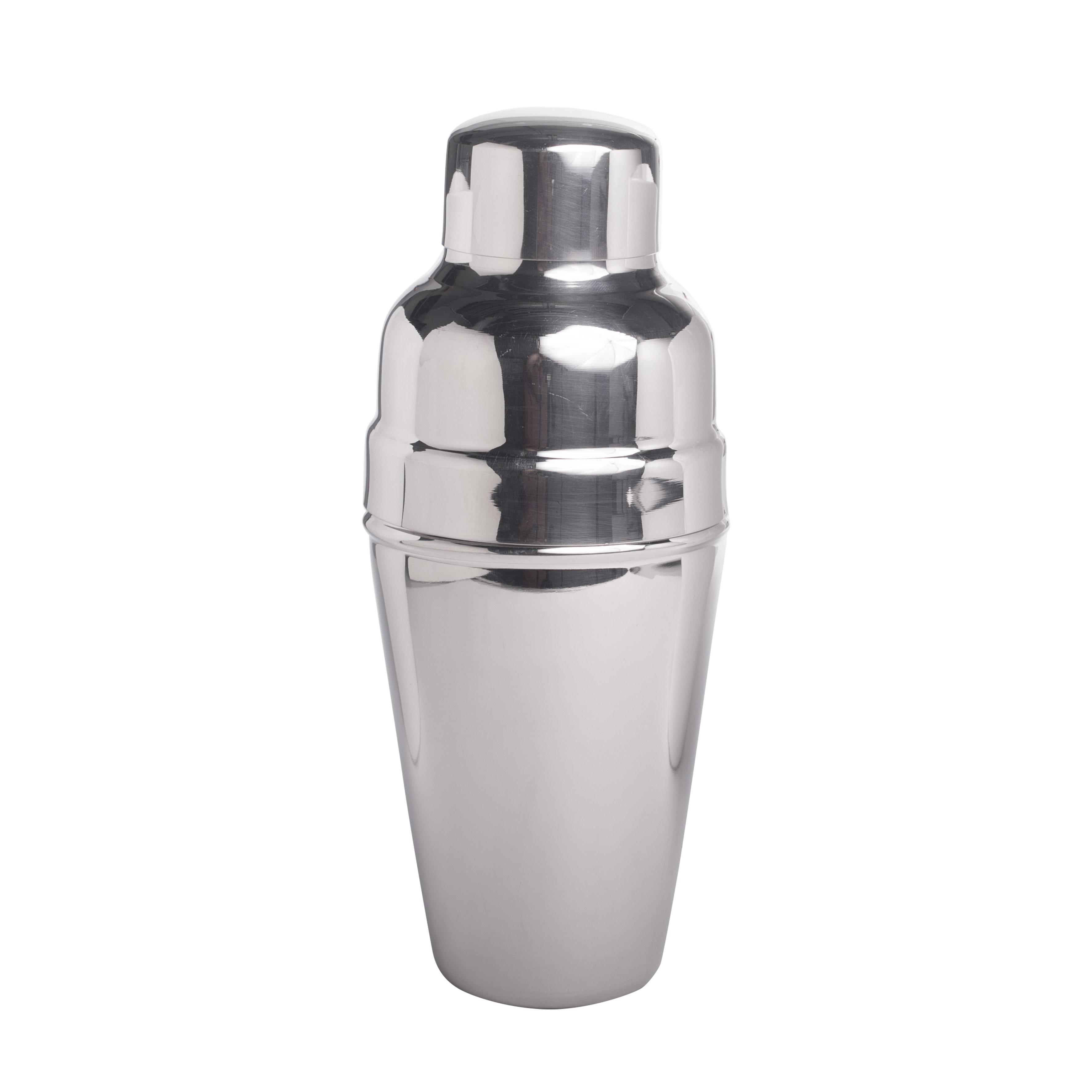 Cocktail-Shaker, poliert 3-teilig