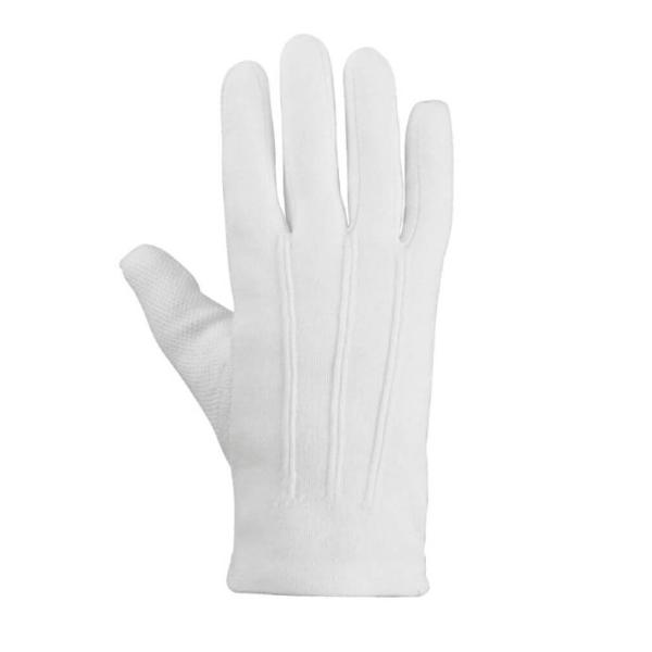 Baumwollhandschuhe Größe S, weiß