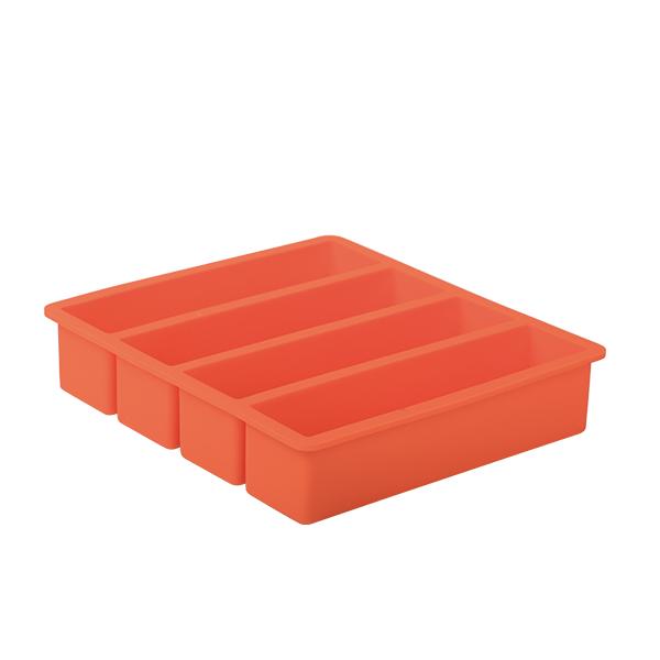Collins Ice Mold, orange
