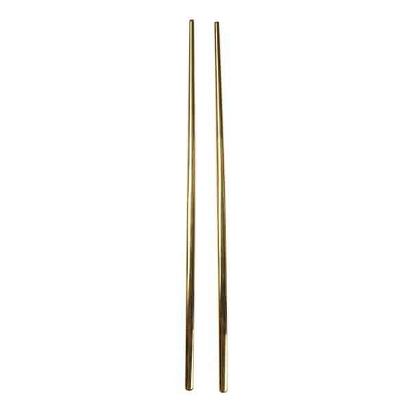Chopsticks Set Gold 23cm