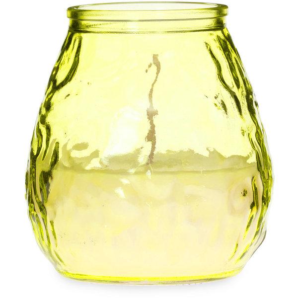 Citronella Outdoorkerze, gelb