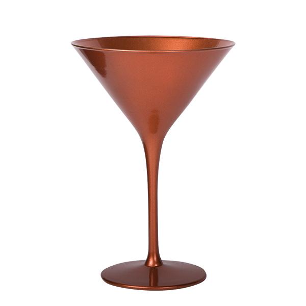 Cocktailschale Glas Bronze 240 ml