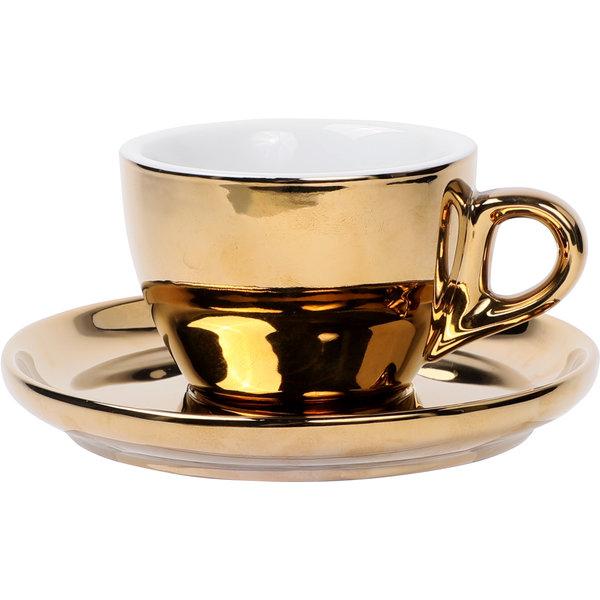 Kaffee Set gold, 160ml