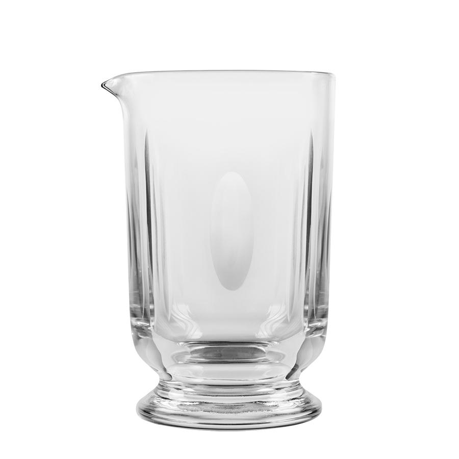 Hand-Cut Rührglas mit Ausgußlippe, 650ml
