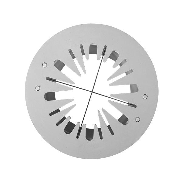 Messerkopf 6 Ecken Sunkist Früchteschneider