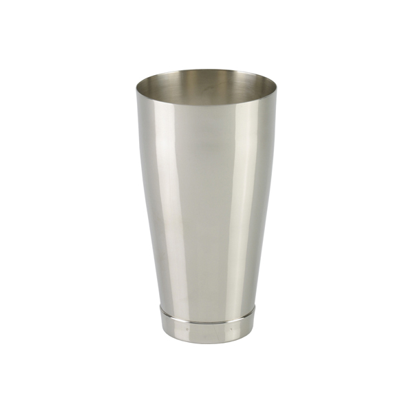 Shaker, Messing vernickelt, ohne Glas