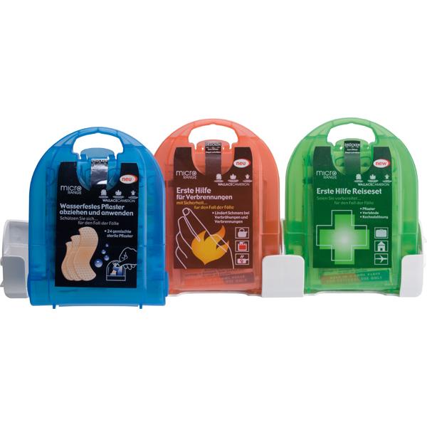 Erste Hilfe Koffer First Aid Micro-Set 3 Teilig