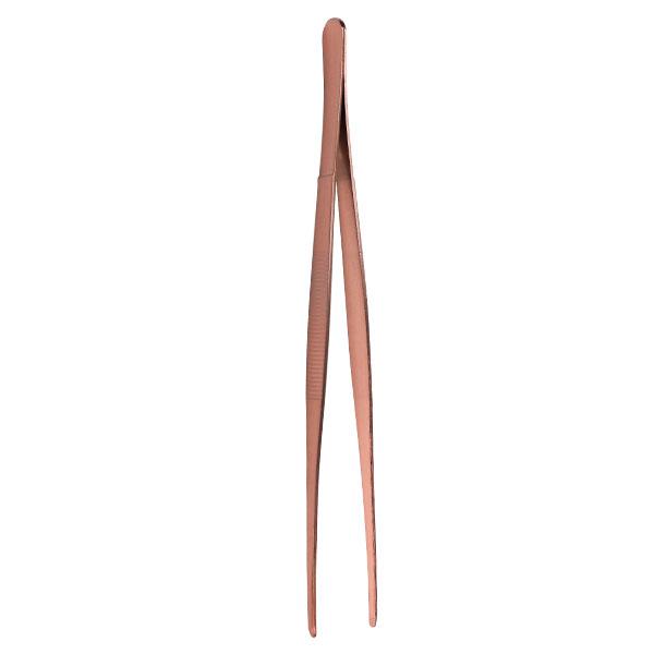 Tweezers 25cm, S/S with Copper Plating