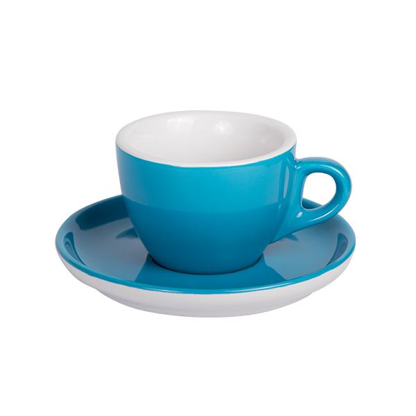 Kaffee Tasse mit Untertasse 160ml Blau 312C