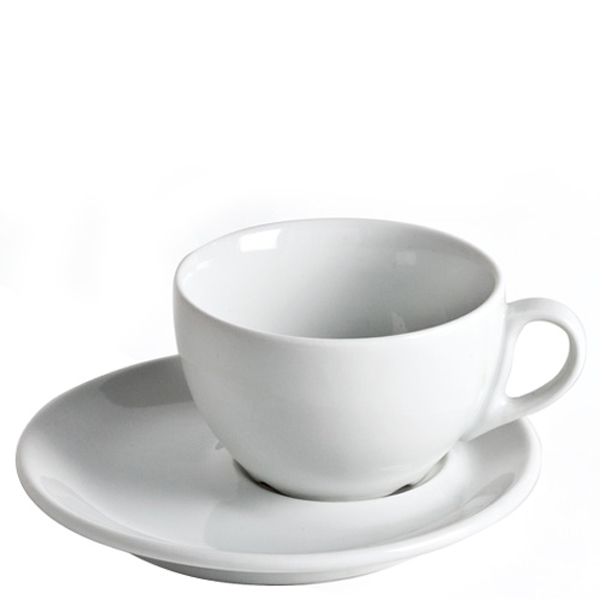 D handled white Breakfast cup 11,5 oz 33cl