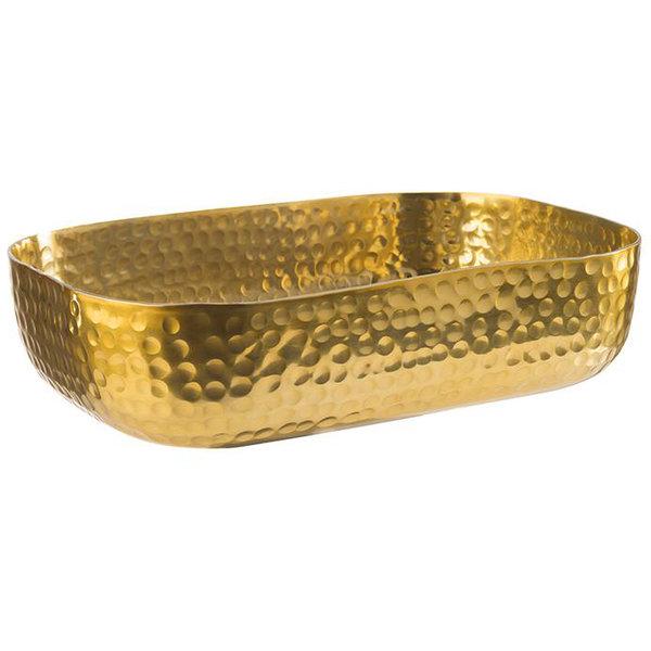 Bowl, mit gehämmerter Oberfläche, gold  1,4 Liter