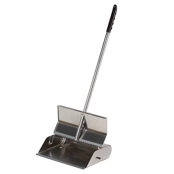 Self Closing Dustpan, Edelstahl