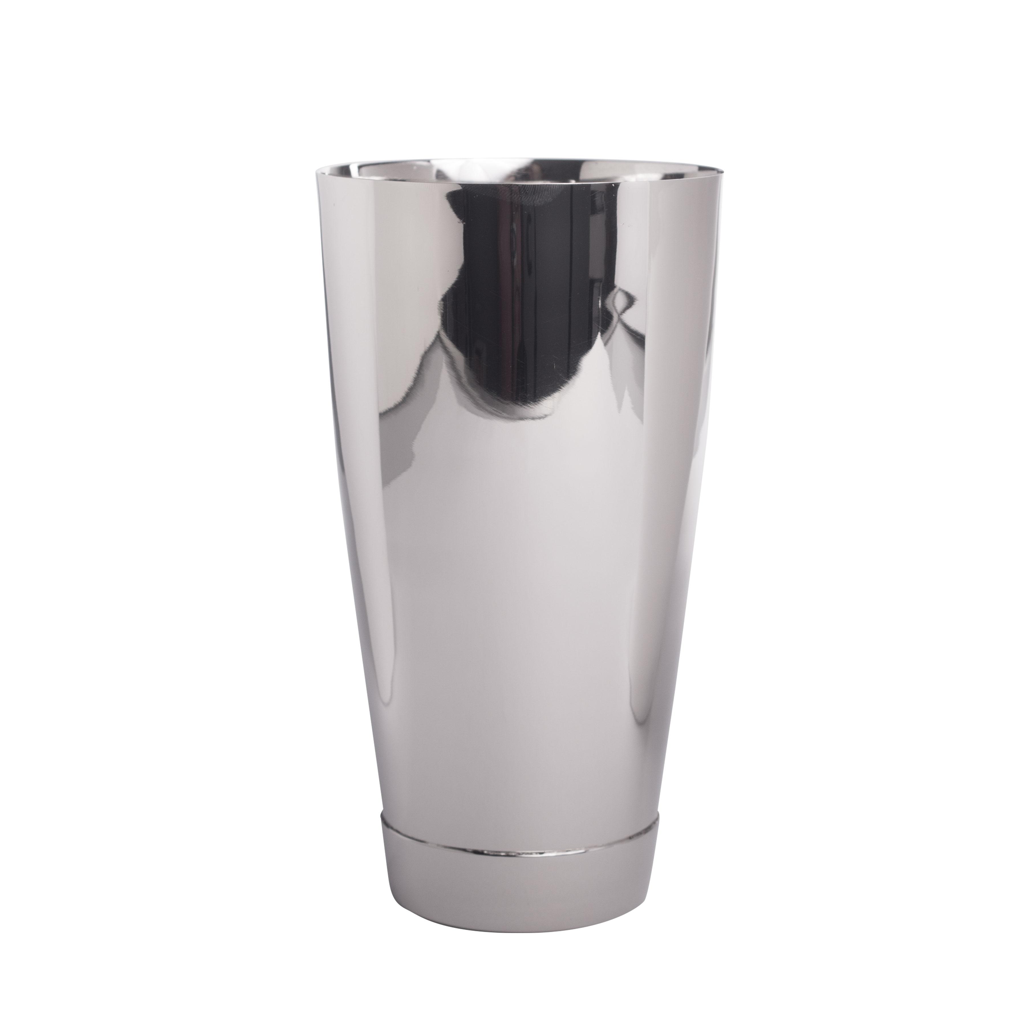 Boston-Shaker Professionell, Bodenkappe 93mm, 840ml