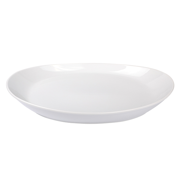 Oval Plate Coupe 38,5 cm