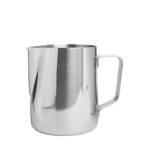 Milchschaum-Kanne,Edelstahl 0,6 Liter
